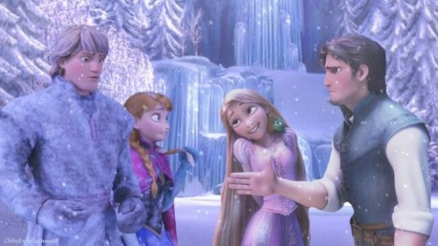 tangled frozen