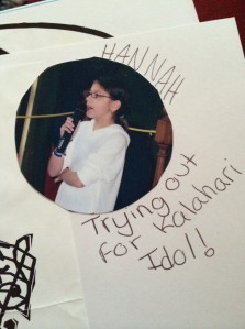 This was both the start and end of my reality singing career.
